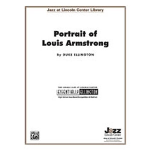 Alfred 00-JLC9907 PORTRAIT OF LOUIS ARMSTRONG-JLC
