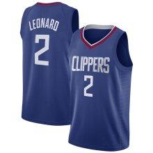 Los Angeles Clippers Kawhi Leonard Loose Basketball Jersey Sports Shirts Men's Quick-drying Basketball Uniform Tops