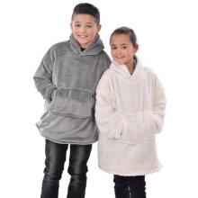 Kids Eskimo Sherpa Hoodie One size