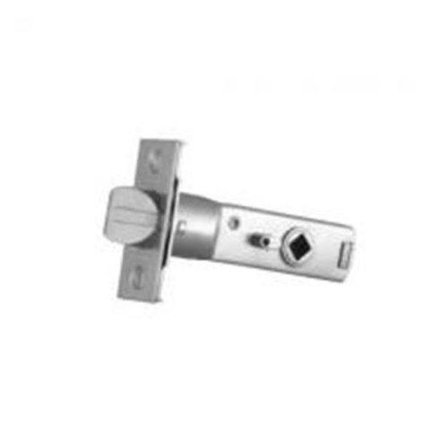 2.75 in. Privacy Door Knob Latch for Backset - Antique Nickel