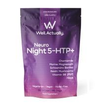 Neuro Night 5-HTP+  (+Marine Magnesium + B6 + Hops + Chamomile + more)
