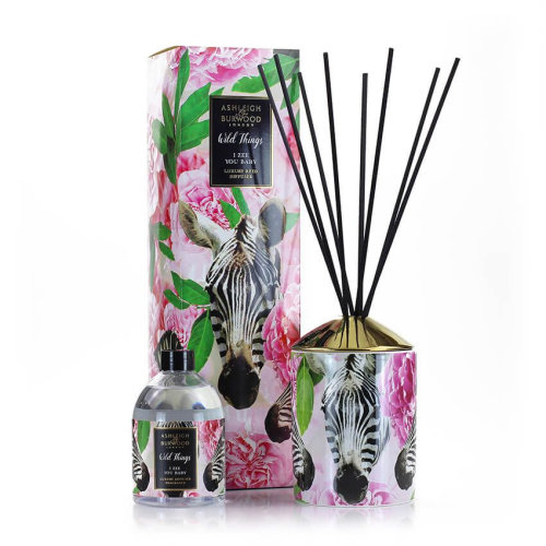 Ashleigh & Burwood Wild Things Supersized Reed Diffuser Boxed Gift Set  I Zee You Baby
