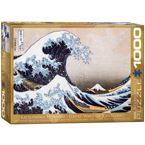 Eg60001545 - Eurographics Puzzle 1000 Pc - Great Wave of Kanagawa