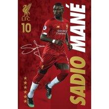 Liverpool FC Mane Poster