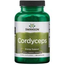 Swanson  Cordyceps, 600mg  - 120 caps