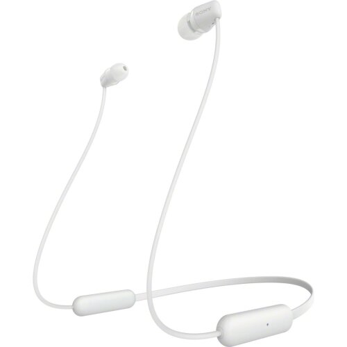 Sony WI-C200 In-Ear Wireless Bluetooth Headphones - White