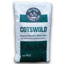 Matthews Cotswold Organic Premium White Flour 16KG