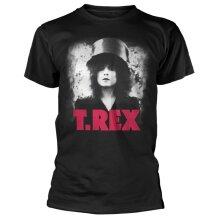 T-Rex 'Bolan Slider' (Black) T-Shirt