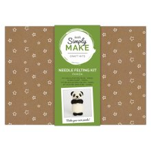 Simply Make Needle Felting Kit - Panda