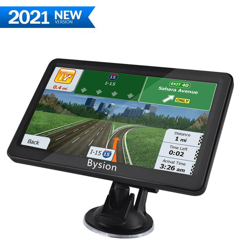 SAT NAVS for Cars, 5 Inch Navigator GPS Navigation System HD Touch Screen with Lifetime Map Updates for UK