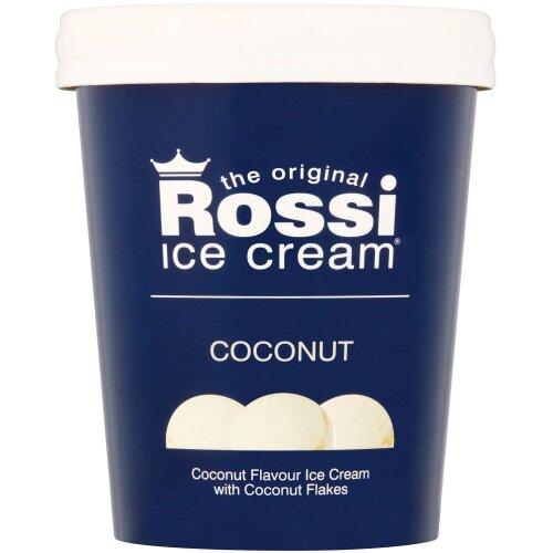 Rossi Coconut Flavour Ice Cream - 6x500ml