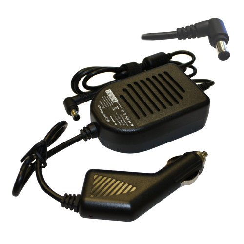Sony Vaio VGN-C25T/W Compatible Laptop Power DC Adapter Car Charger