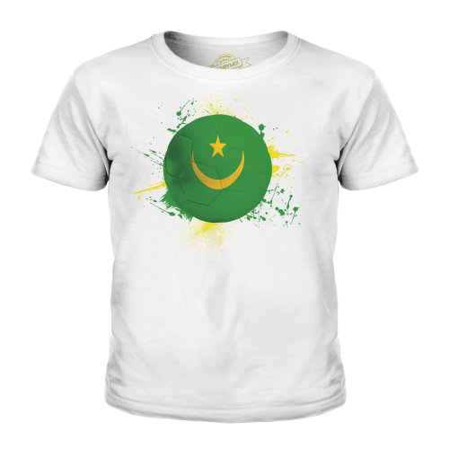 Candymix - Mauritania Football - Unisex Kid's T-Shirt
