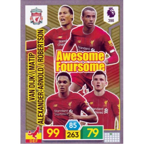 PANINI Premier League 2019//20 ADRENALYN XL 19//20 Liverpool