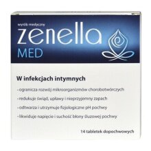 ZENELLA MED 14 VAGINAL CAPSULES IN INTIMATE INFECTION