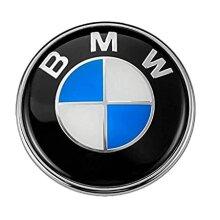 BMW Front Bonnet Boot Rear Logo Badge Emblem Z3 X6 X5 E Series 74mm