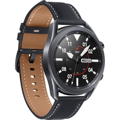 Samsung Galaxy Watch3 GPS Smartwatch (Bluetooth, 45mm, Mystic Black)