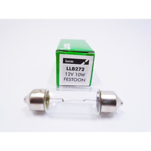 Lucas  LLB272 Car Festoon Number Plate Interior Light Bulb 12v 10w