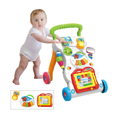2in1 Baby Walker Activity Toys Car