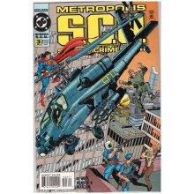 Metropolis S.C.U. #3 Jan 95 from DC Comics - Used