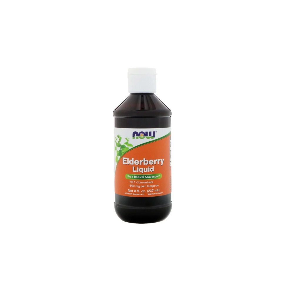 Now Foods, Elderberry Liquid, 237ml