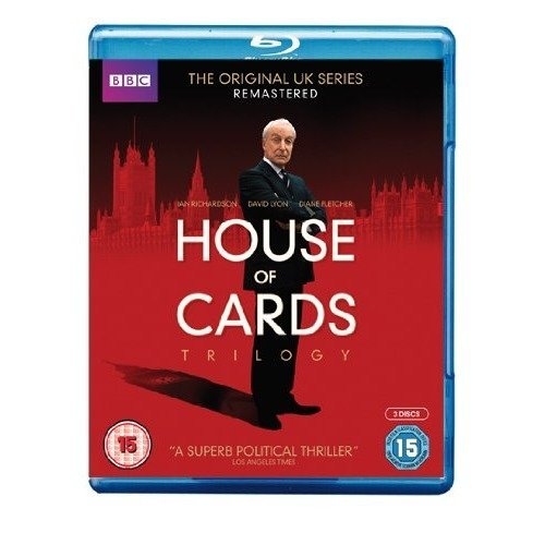 House Of Cards (Original) Series 1 to 3 Complete Collection Blu-Ray [2013]