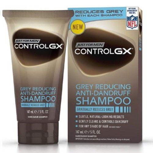 Just For Men Control GX Grey Reducing Anti-Dandruff Shampoo