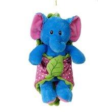 Fiesta Toys Turquoise Elephant Blanket Babies