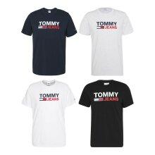 Tommy Hilfiger Men's Tjm Corp Logo Casual T-Shirt