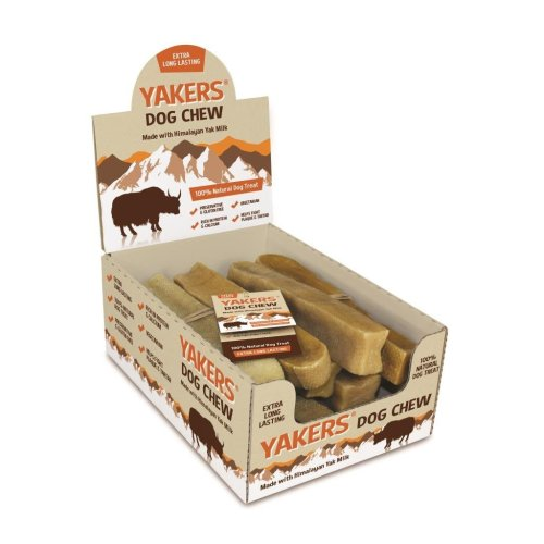 Yakers Dog Chew Medium x 20 - Yak Milk Value Box of 20 Chews - Save!