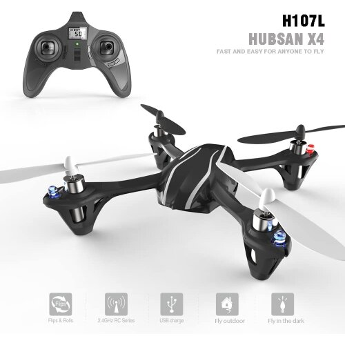 Hubsan X4 H107 Micro Quadcopter Drone 2.4GHz UK