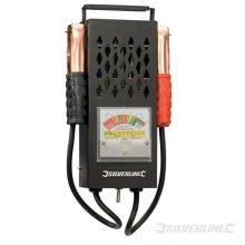 Silverline 6v & 12v Battery & Charging System Tester - 282625 -  battery charging system tester 12v silverline 6v 282625