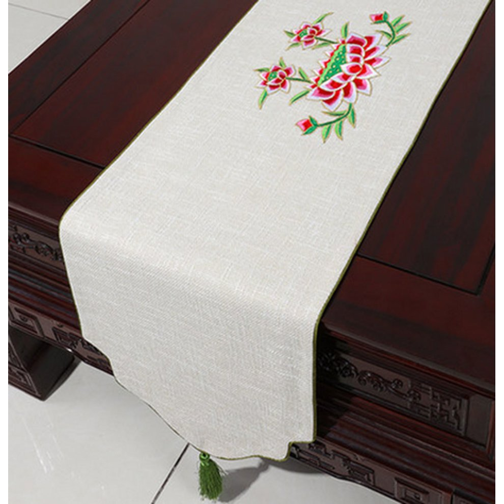 Cloth Linen Table Runner Coffee Table Cloth Drape Modern Tablecloth On Onbuy