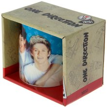 One Direction Blue Ceramic Mug