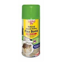 Zero In Natural Insect Killer Flea Bomb 150ml Aerosol (Pack of 6)