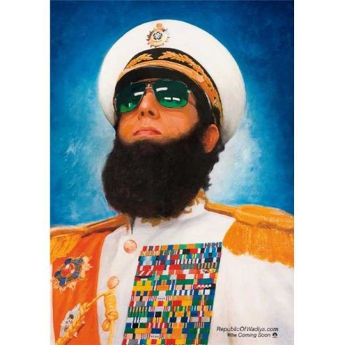 Pop Culture Graphics MOVEB98394 The Dictator Movie Poster, 11 x 17