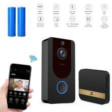 Wireless WiFi Video Doorbell Smart Phone Door Ring Intercom Camera Security