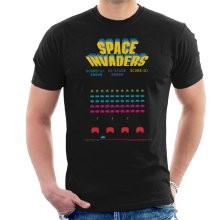 Space Invaders 1978 Arcade Game Play Men's T-Shirt