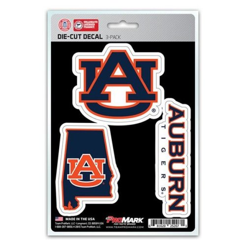 Pro Mark DST3U007 Auburn Decal - Pack of 3