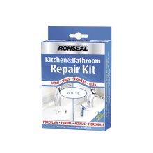 Ronseal 35108 Kitchen & Bathroom Repair Kit 60g