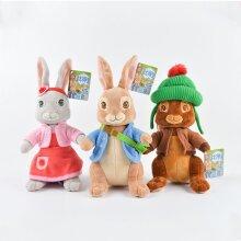 Peter Rabbit Bobtail Benjamin Bunny Plush Toy