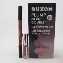 Buxom Plumpon the Double Duo -Lip liner HUSH HUSH + Lip cream HOT TODDY