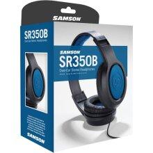 Samson SR350B Over-Ear Stereo Headphones (Special Edition Blue)