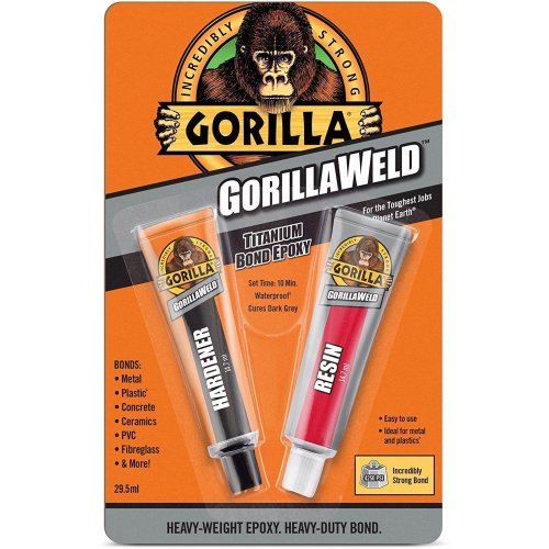 Gorilla Glue Weld 2-Part Epoxy For Plastic Metal Stone + Many More Extra Strong