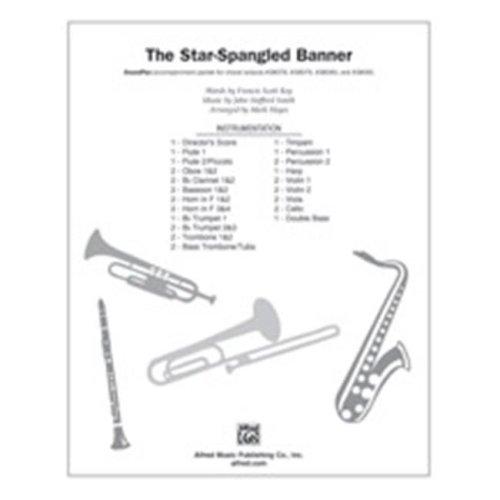Alfred 00-38083 STAR SPANGLED BANNER-SPX