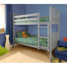 Chelsea Wooden Bunk Bed with Tanya Mattresses
