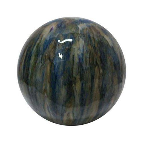Alpine Corp TOM252 10 in. Ceramic Gazing Globe
