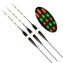 3X Glowing Glow LED Bait Fishing Lure Float Tackle Luminous Bobber
