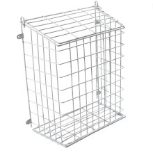 Kabalo Extra Large Letter Box Door Cage Post Catcher Pet Dog Guard Mail Basket White