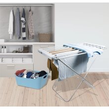 Freestanding heated clothes / towel rail
